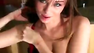 Capri Anderson Loves Giving Jerkoff Encouragement