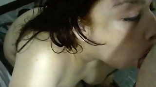 Chubby Wife Blow Job