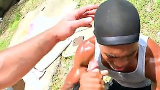 Black Thug, Blow Jobs, Thug, Black Outdoor, Black Cum Shot, Bla Ck, Interracialoutdoor, Blowjobs With Cumshot