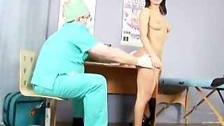 Sweet Brunette Girl Passes The Special Gyno Exam