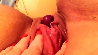 Milf Has Strong Pussy Muscles