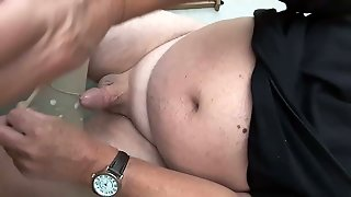 Tan Nylon Cum