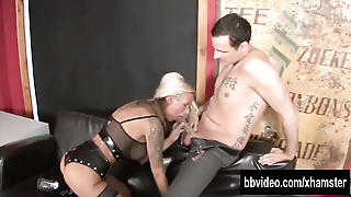 Busty German Mistress Gets Pussy Fisted
