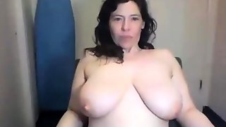 Ugly Chubby Hairy Cougar With Big Tits Ties Self