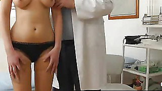 Old Gynecologist Likes To Spy On Young Pussy