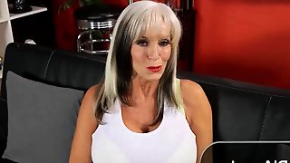 Hot Granny And Her First Anal Video