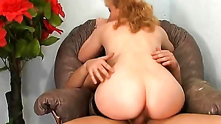 Woman with dick and pussy