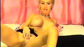 Busty Mature Blond Webcam Masturbate
