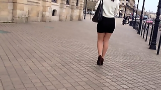 Sexy Mini Skirt Legs High Heel 02