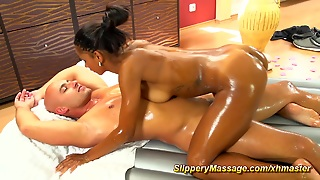 Hd Teens, Big And Black, Slippery, Teens Cock, Big Blackcock, Footjob Massage, Its Big Cock, Massage The Nipples