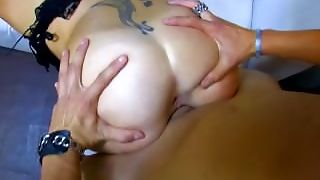 Horny French Babe Sucks A Huge Dick In Her Friend's Bar