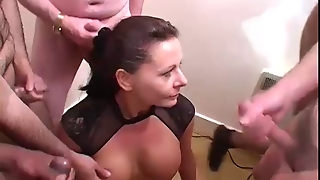 Bukkake, English, Amateur Milf, Amateur Facials, Party Milf, Party Group, Bukkake Party, English Party