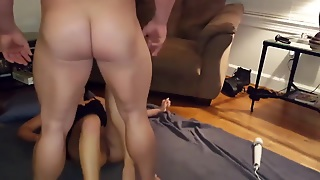 Wife Fucked Hard Missionary On The Floor