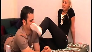 Slaves Sniff Girls Socks