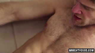 Hairy Gay Anal With Facial