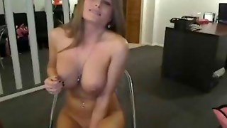 Big Tits Babe With Vibrator