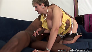 Lady Sonia Interracial 5
