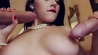 Dp With Valentina Loves Double Penetration