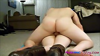 Milf Does Anal On Floor And Screams!