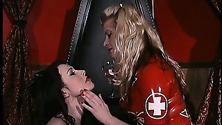 Crazy Brunette Loves Bondage And Is Sealed In A Latex Bag Made For It