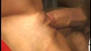 Classic Brunette Milf In Gangbang Sex Video With Bunch Of Guys