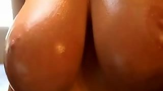 Busty Oiled Boobies Up - Busty Oile