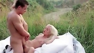 Blonde, Hardcore, Small Tits, Outdoor, Lick, Teen