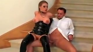 Milf In Latex Getting Fucked
