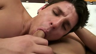 Skinny And Beautiful Dany De Castro Gets Blowjob From A Young Boy