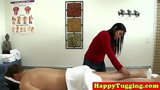 Asian Massage Handjob Caught On Hiddencam