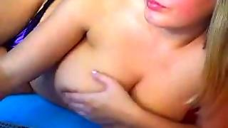 Thick Blonde Milf With Great Big Natural Tits