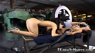 Super Sexy Babe Takes A Big Fat Toy