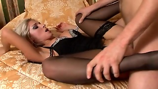 Ian Scott Fucks Sexy Blonde Christa's Pussy In All Known Positions