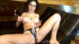 Strap On And Anal Dildoing Play On Live Cam