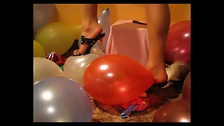 Balloons, Blondes In Stockings, Blondes Stockings, Stocking S
