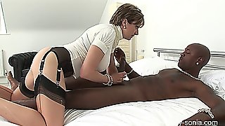 Ladysonia - White Trophy Wife And Huge Black Cock 2013