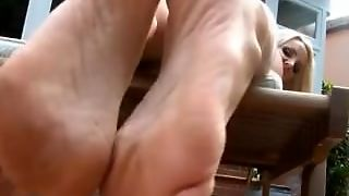 Foot Pov With Spit Joi