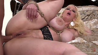 Real Used Blonde Whore Alura Jenson Gets Her Trained Cunt Fucked Hard Enough
