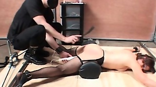 Fingering Ass, Hardcore Bdsm, Slave Ass, Hardcore Fetish, Ass Get Fucked, Chained Slave, Stockings Fingering, Bdsm In Stockings