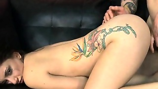 Latina Bent Over For Very Rough Doggystyle Fucking