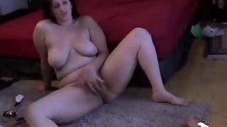 Cute Chubby Chick With A Nice Big Ass And A Sexy Natural Bush