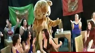 Amateurs Getting Poked By A Dancing Bear