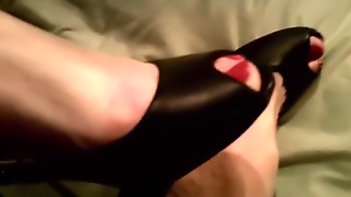 Shoe, Foot Fetish, Painted Toes, Fetish, Straight