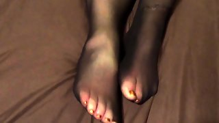Foot And Nylon Fetish