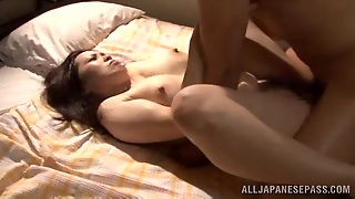 Amateur Japanese Slut With Big Tits And Hot Ass Gets Rammed With Cock
