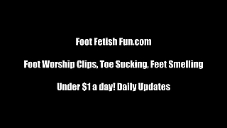 You Must Be In Foot Fetish Heaven Right Now