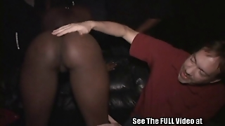 Teen Ebony Slut Livin Out Her Porn Fantasy In A Porn Theater