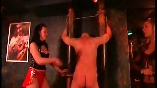 Brunette Spanks Dudes Ass And Spanks His Butt