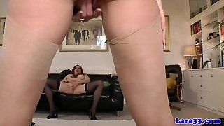 British Milfs In Lingerie Lesbian Sex On Floor