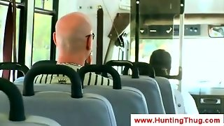 Interracial Gay Sex At Public Transport